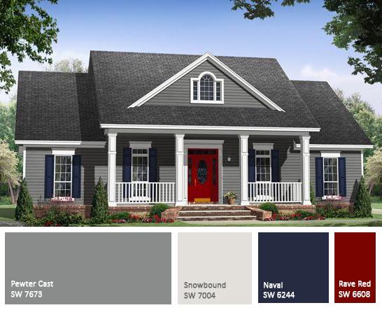 Domain decorating restoration for House colour choice
