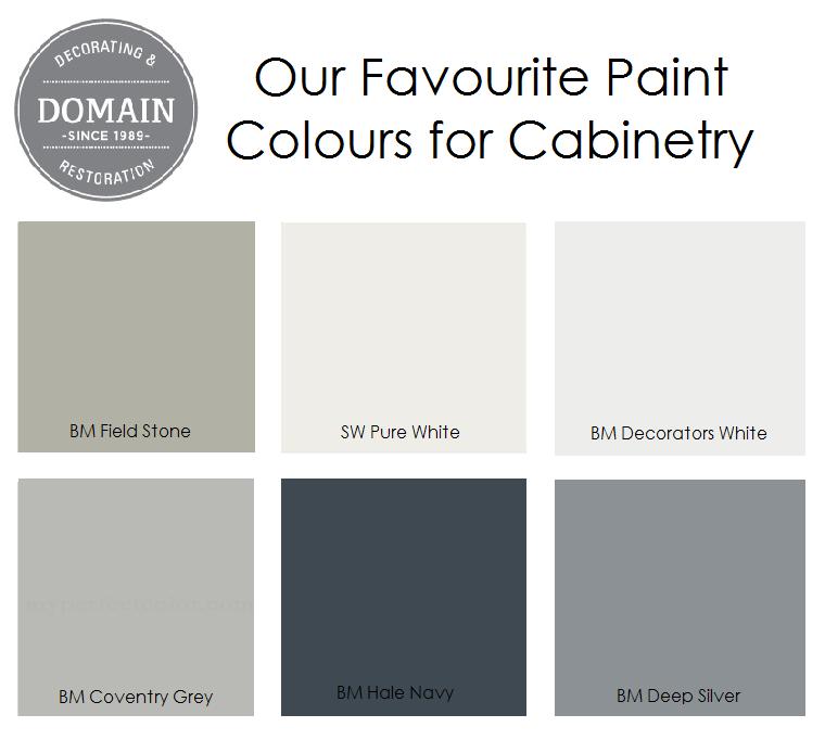 CabinetryPaint Colours