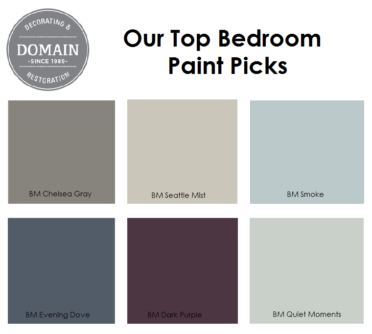 Bedroom Paint Picks