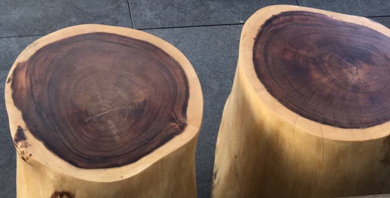 Wood Rounds After